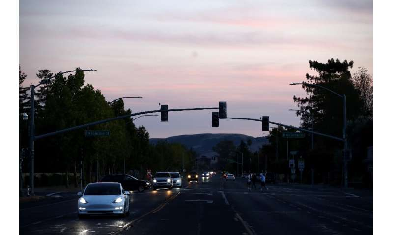 Traffic lights in the Sonoma area are out due to power outages