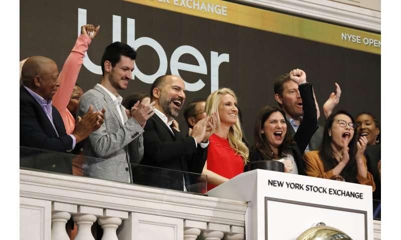 Uber gets hit again; shares below $40
