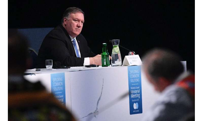 "US Secretary of State Mike Pompeo assured his Arctic counterparts that ""the Trump administration shares your deep commitmen"