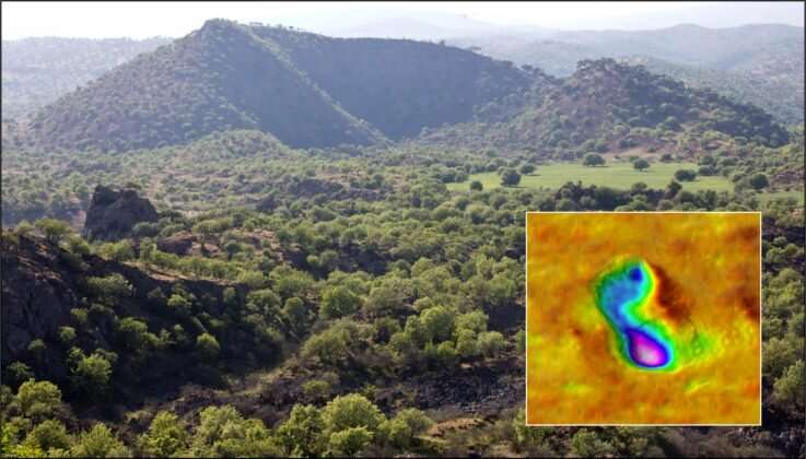 Volcanic eruption witnessed by Homo sapiens from pre-historic times