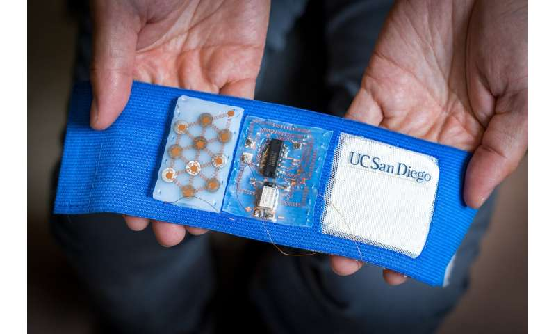 Wearable cooling and heating patch could serve as personal thermostat and save energy