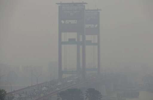 Worsening air pollution reducing lifespans in Indonesia