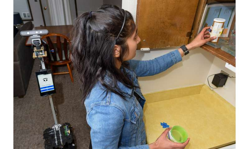 WSU smart home tests first elder care robot
