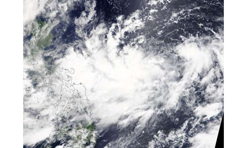 NASA finds Tropical Depression Bailu forms east of Philippines