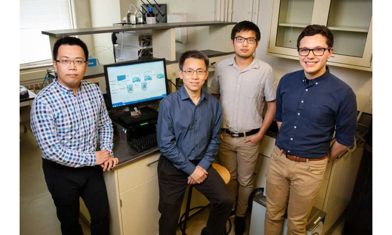 Researchers develop fast, efficient way to build amino acid chains