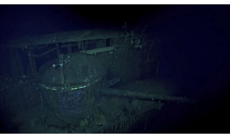 Deep-sea explorers seek out sunken World War II ships
