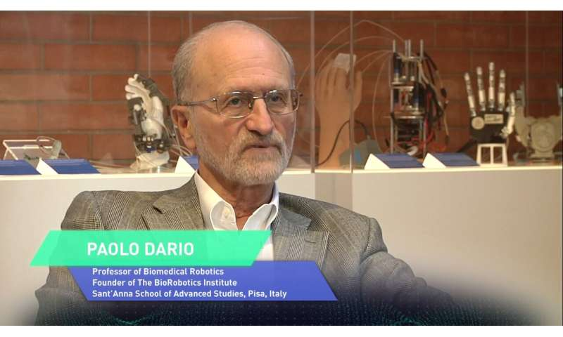 Exploring the unexpected. A chat with Paolo Dario, world-renowned pioneer of biorobotics