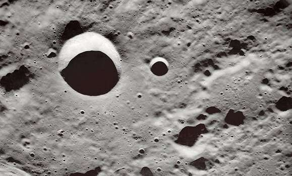 New research considers what lies below the moon's surface