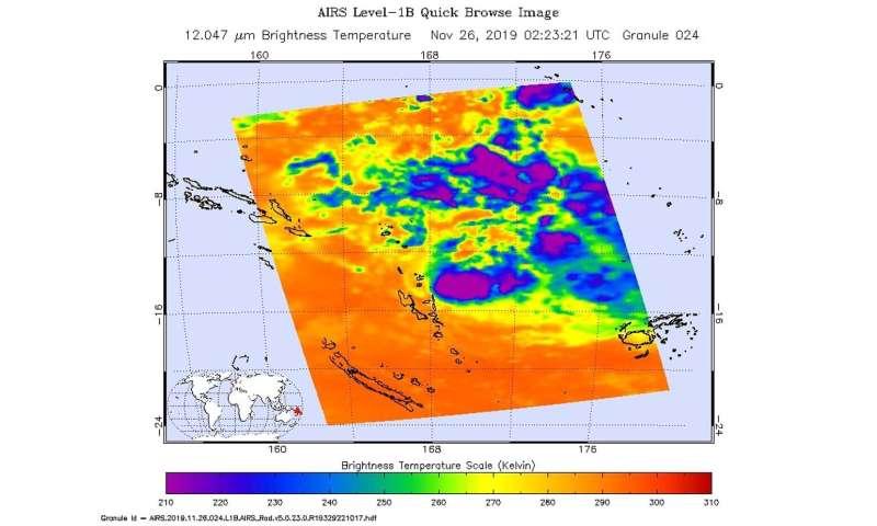 NASA finds heavy rain potential in Tropical Storm Rita