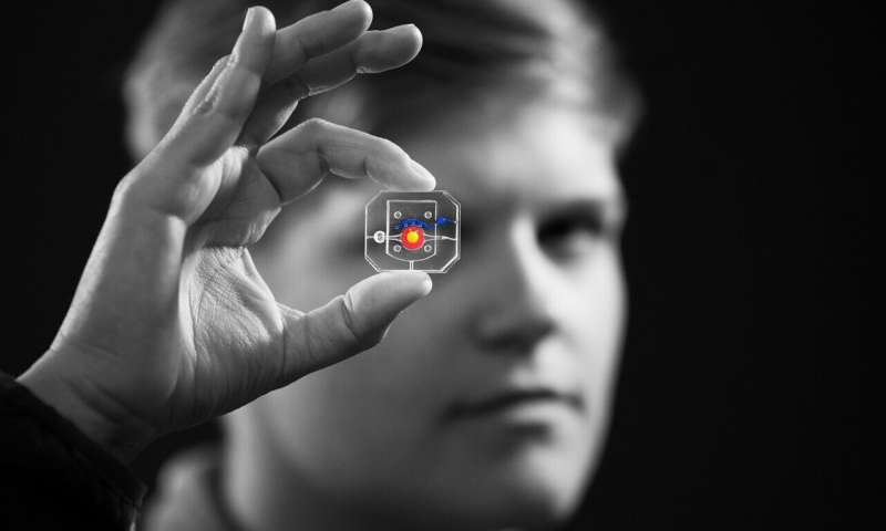 Penn Engineering's blinking eye-on-a-chip used for disease modeling and drug testing