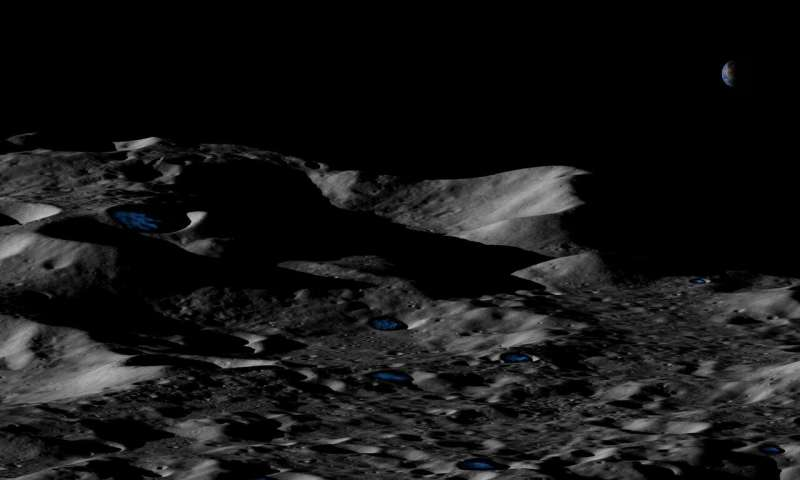 Study suggests much more water on the moon than thought (Update)