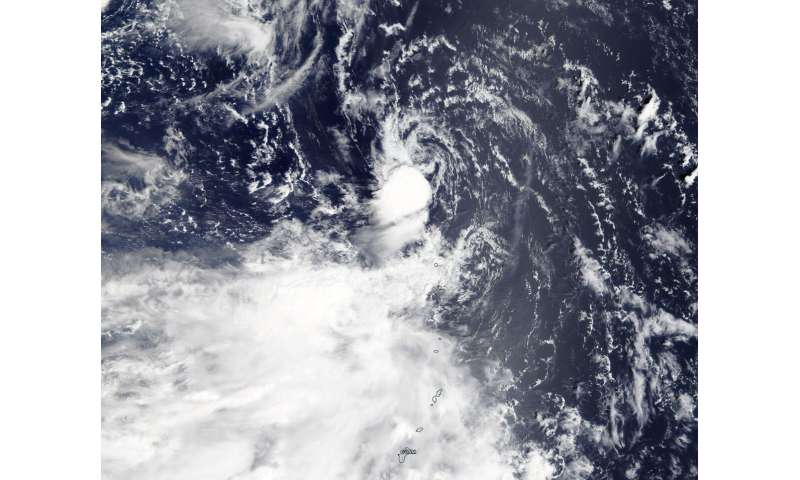 NASA finds Tropical Depression Peipah dissipating
