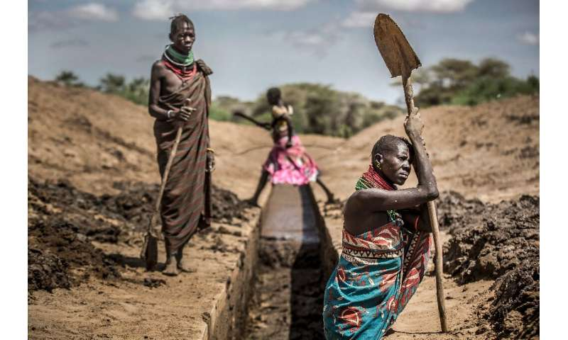 Climate change is already producing longer and more frequent droughts in areas like northwestern Kenya
