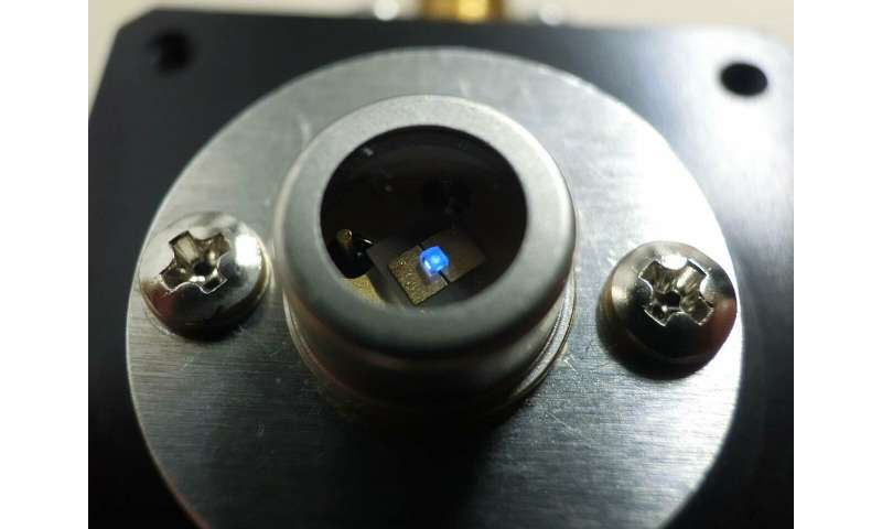 Understanding high efficiency of deep ultraviolet LEDs