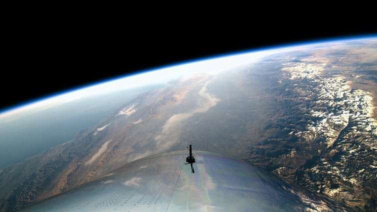 Virgin Galactic goes public and leads space tourism race