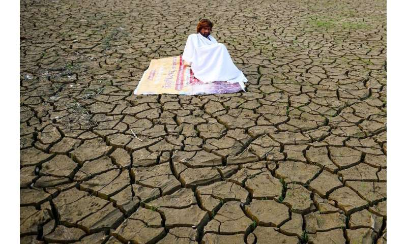 Climate change is predicted to increase the intensity and duration of droughts
