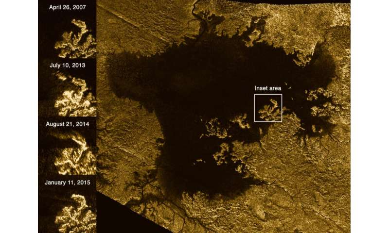 New study finds the mix that makes Titan's lakes spew nitrogen bubbles