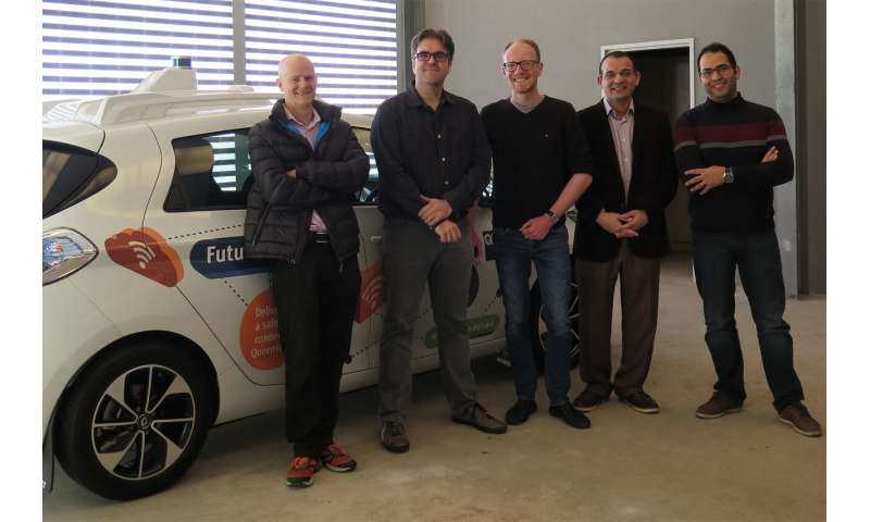 Researchers make automated vehicles real