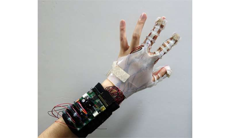 Virtual reality glove system takes shape in digital realm
