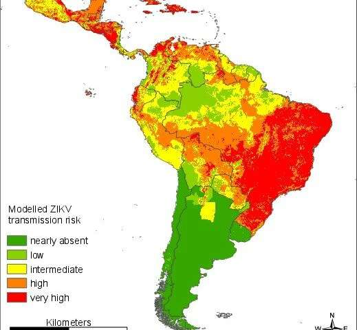 Researchers developing maps on Zika virus infection risk