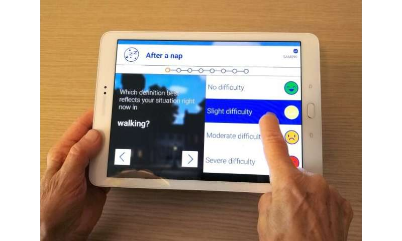 Researchers develop a new home-based app to better monitor Parkinson's disease motor symptoms