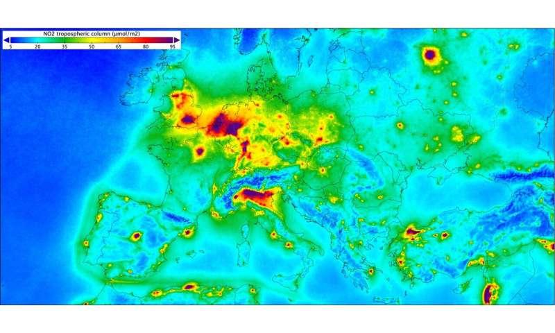 19 EU member states record nitrogen dioxide concentrations ...