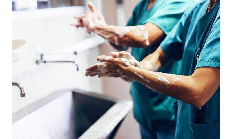 1 in 10 patients are infected in hospital, and it's not always with what you think