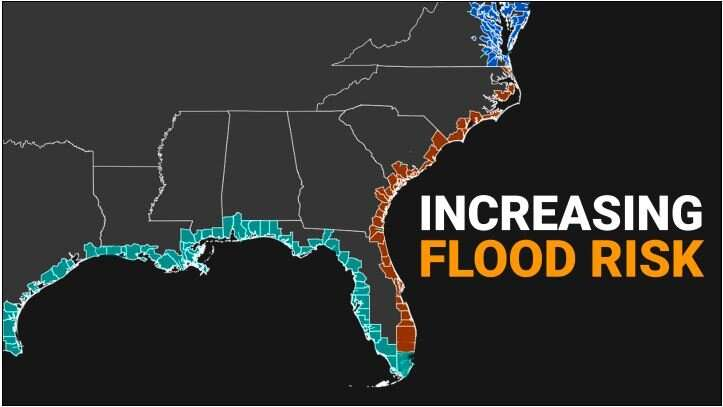 '100-year' floods will happen every 1 to 30 years, according to new flood maps