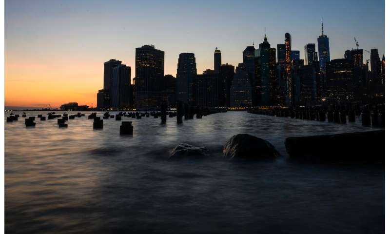 According to the city's official projections, 37 percent of buildings in Lower Manhattan will be at risk from storm surge by 205