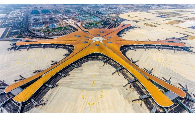 At 700,000 square metres (173 acres) the new Beijing Daxing International Airport will be one of the world's largest airport ter