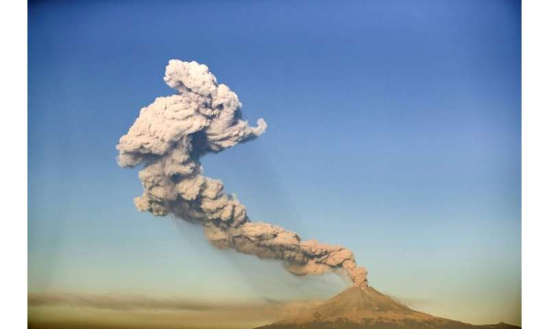 "Authorities have raised the alert level at Popocatepetl to ""yellow phase three""—one step short of ordering an evacuati"