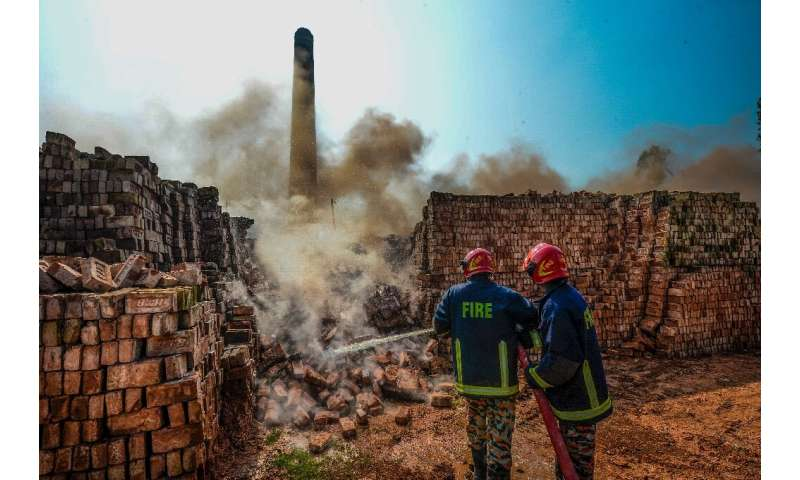 Authorities say tearing down the brick kilns will make Dhaka's air more breathable but thousands of workers have been left witho