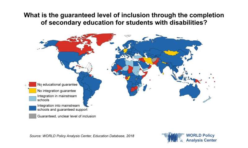 Better human rights protections around the world for people with disabilities, but gaps remain