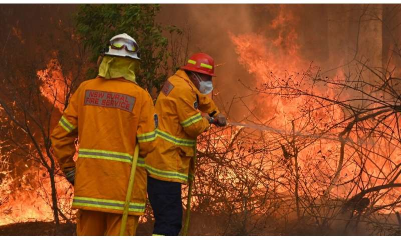Bushfires are common in the country but scientists say this year's season has come earlier and with more intensity due to a prol