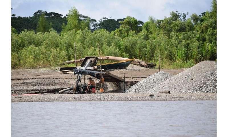Deforestation, erosion exacerbate mercury spikes near Peruvian gold mining