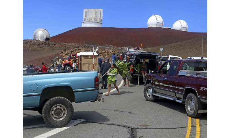 Divisive telescope to restart building next week in Hawaii