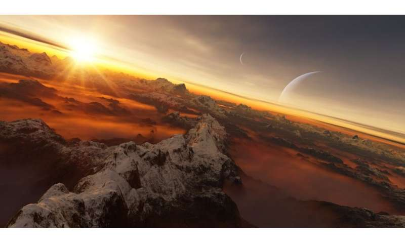 Earth is an exoplanet to aliens—this is what they'd see