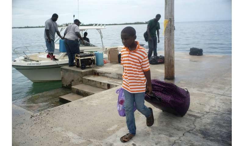 Evacuations begin in Bahamas as Category 4 Dorian bears down
