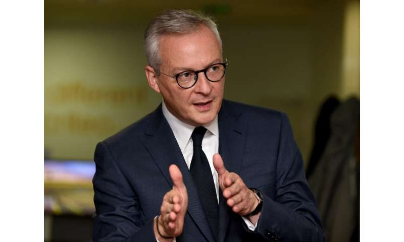 French Economy Minister Bruno Le Maire said that Europe is ready to retaliate