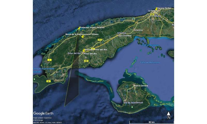 From Chelyabinsk to Cuba: the meteor connection