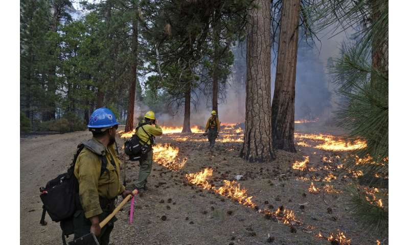 Goals to fight fire with fire often fall short in US West