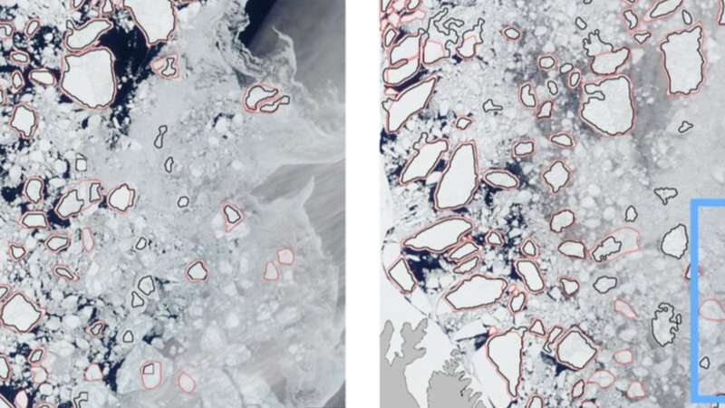 Going with the floe: Sea ice movements trace dynamics transforming the new Arctic