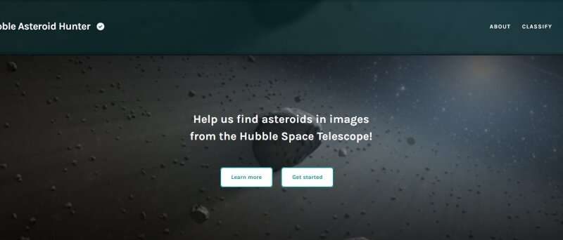 Hubble is the ultimate multitasker: Discovering asteroids while it's doing other observations