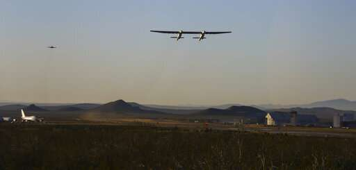 In California, giant Stratolaunch jet flies for first time