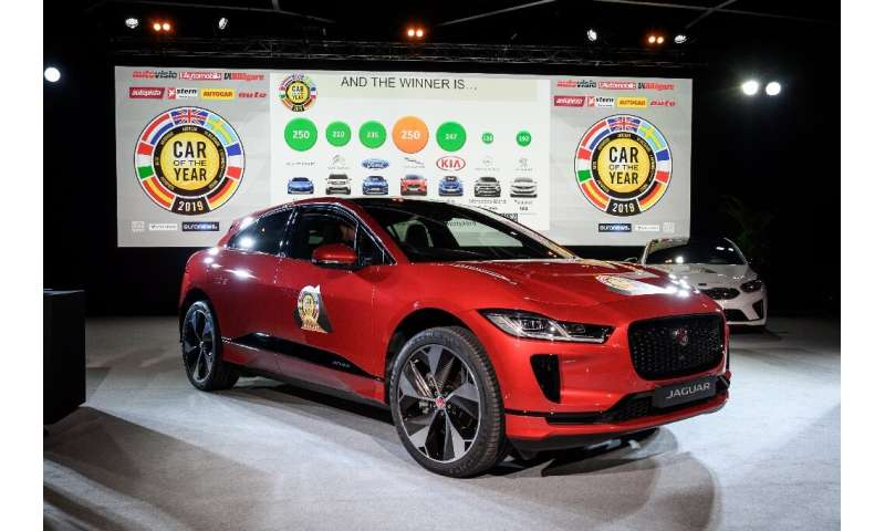 Jaguar Land Rover's first all-electric vehicle, the Jaguar I-Pace, was named European Car of the year 2019 before the start of t