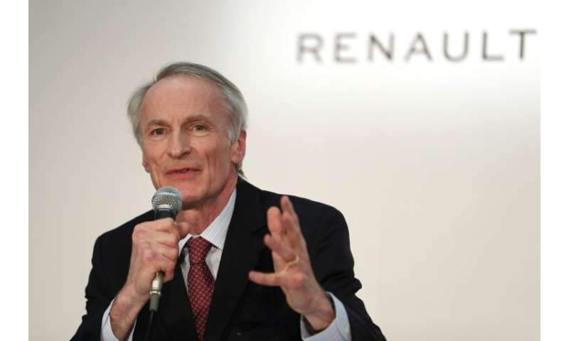 Jean-Dominique Senard said he wouldnot seek to be chairman of Nissan