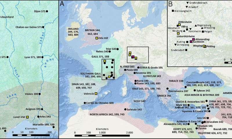 Max Genome study reveals extent, diversity of Roman-era pandemic
