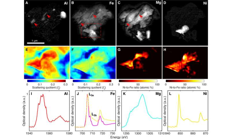 Multimodal X-ray and electron microscopy of the Allende meteorite