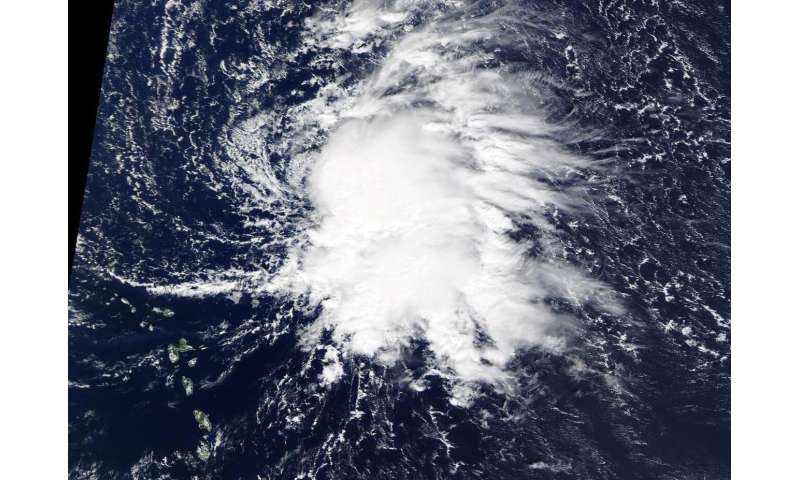 NASA identifies new Atlantic Tropical Storm Sebastien