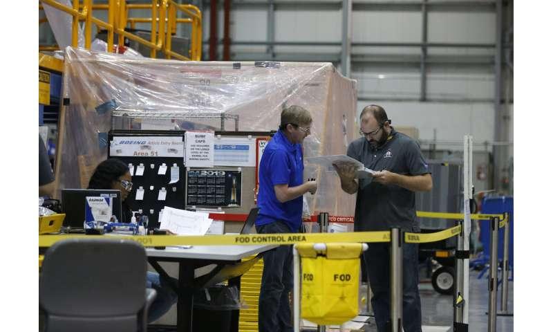 NASA: Intense work under way on rocket for future moonshots